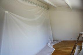 plafond tendu technique de pose atmosph re creations. Black Bedroom Furniture Sets. Home Design Ideas