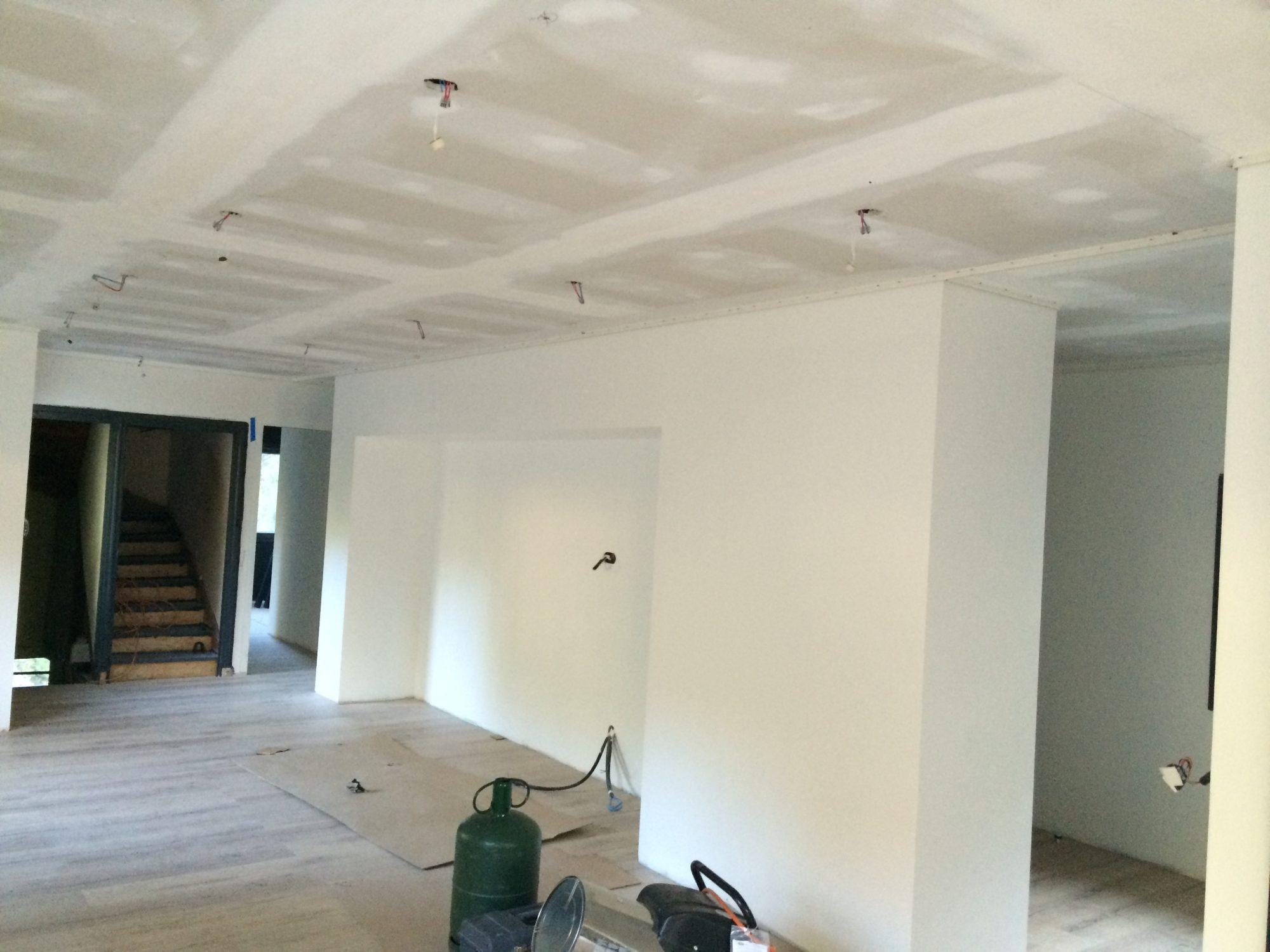 Toile À Enduire Plafond comment restaurer un plafond ? - atmosphère créations