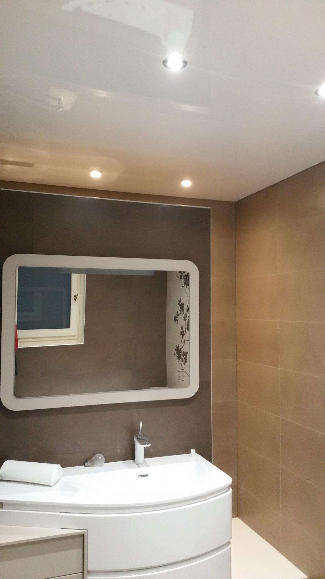 Nettoyer Vitre Salle De Bain Calcaire quel produit pour nettoyer un plafond tendu ? - atmosphère