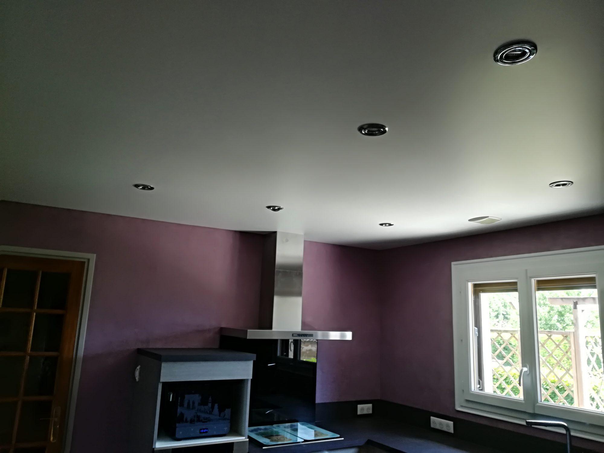 Quel Spot Dans Salle De Bain quel spot choisir pour un plafond tendu ? - atmosphère créations