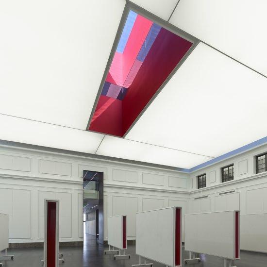 Plafond tendu musée