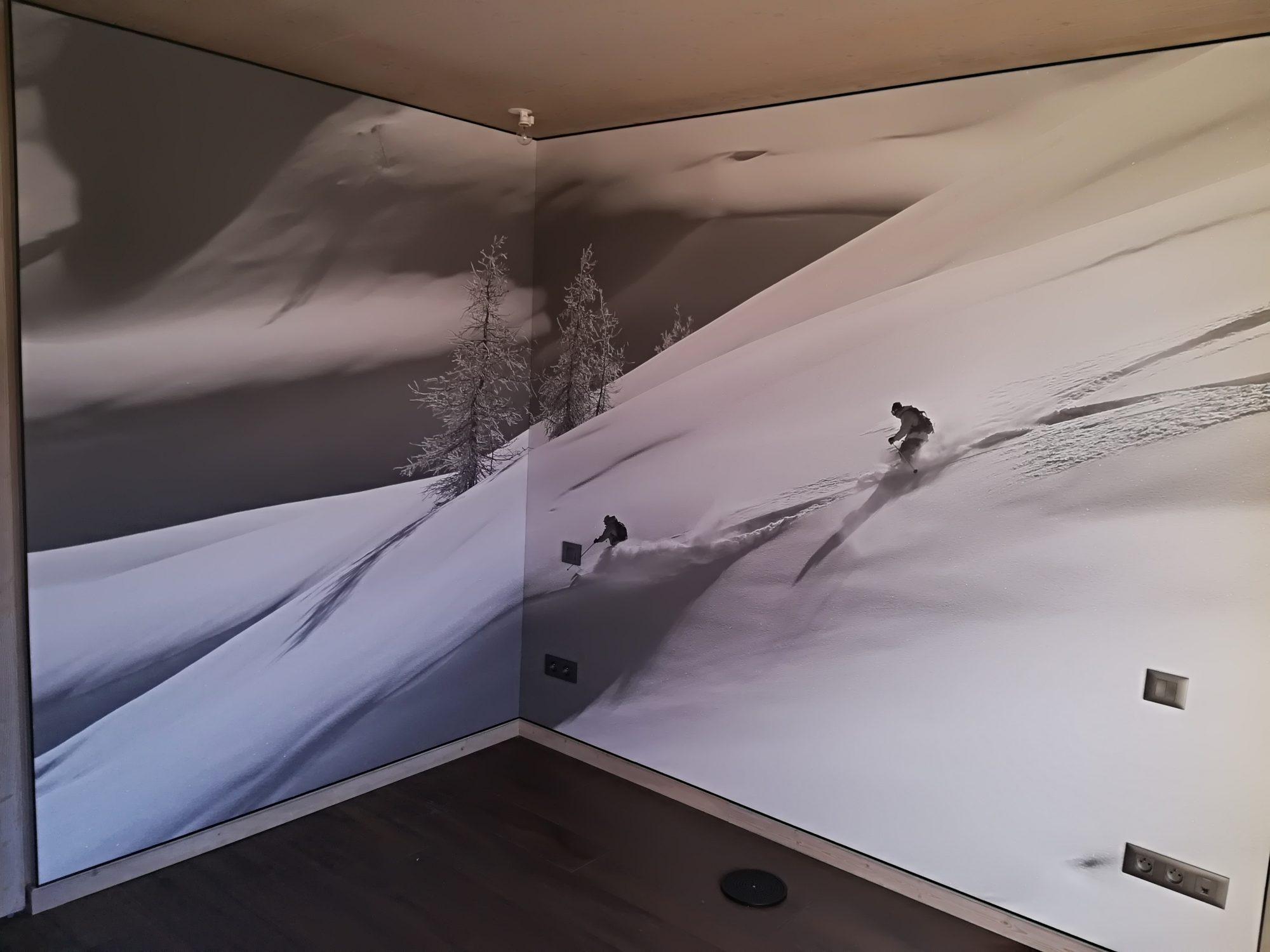Toile À Enduire Plafond comment rénover un mur intérieur ? - atmosphère créations