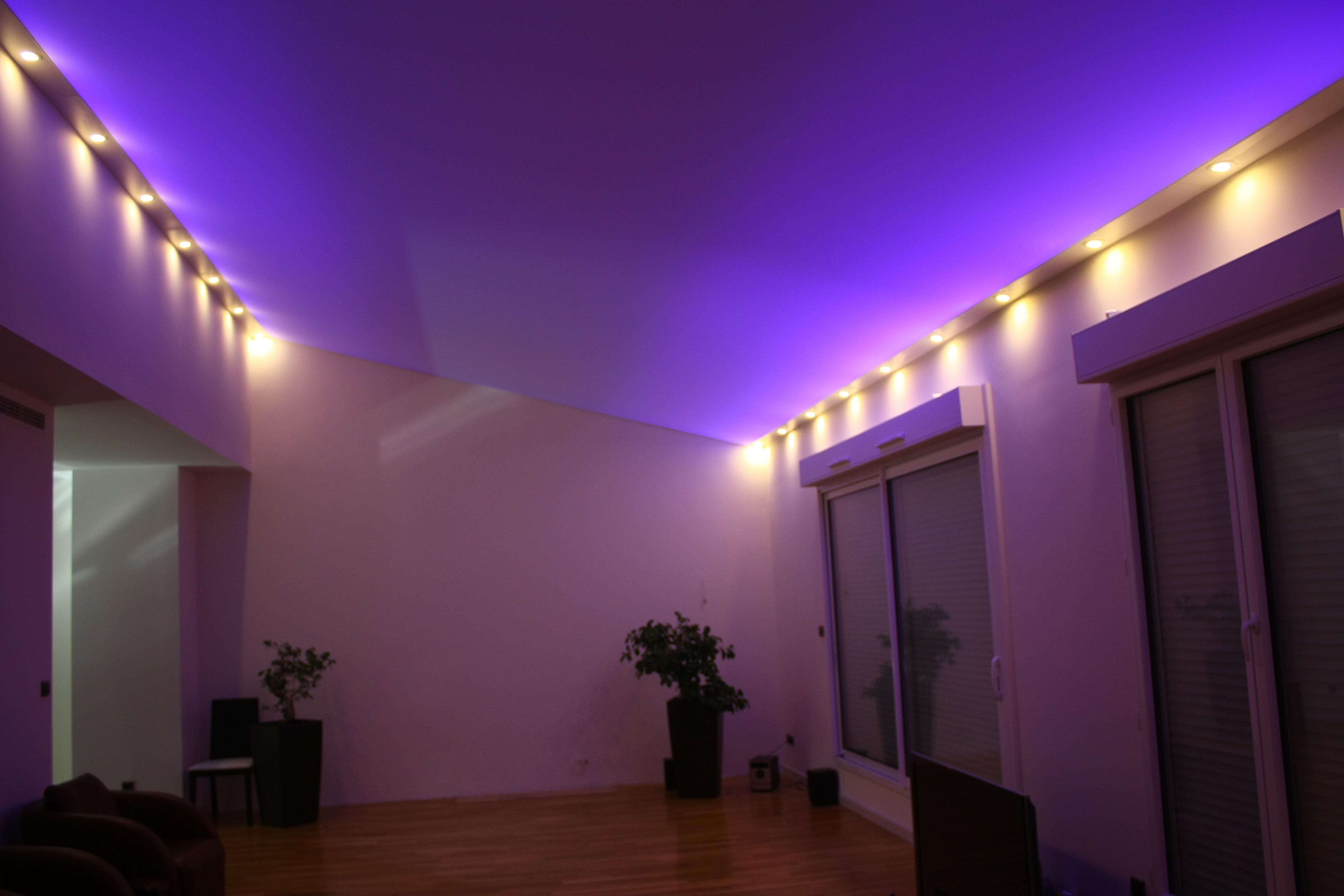 Plafond tendu acoustique