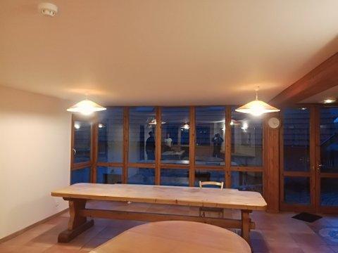 exemple installation plafond tendu